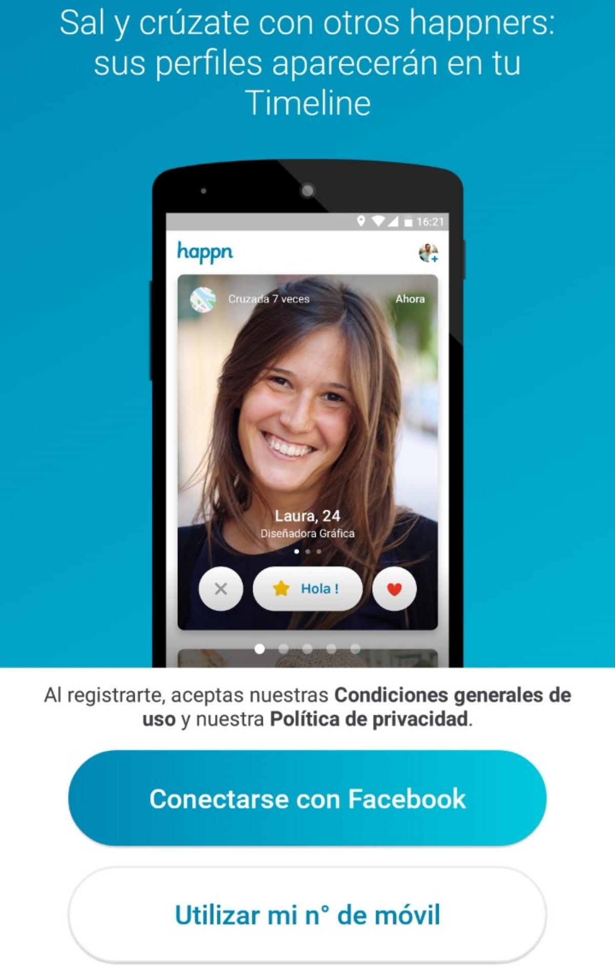 opinion de happn y de los usuarios sobre esta aplicacion